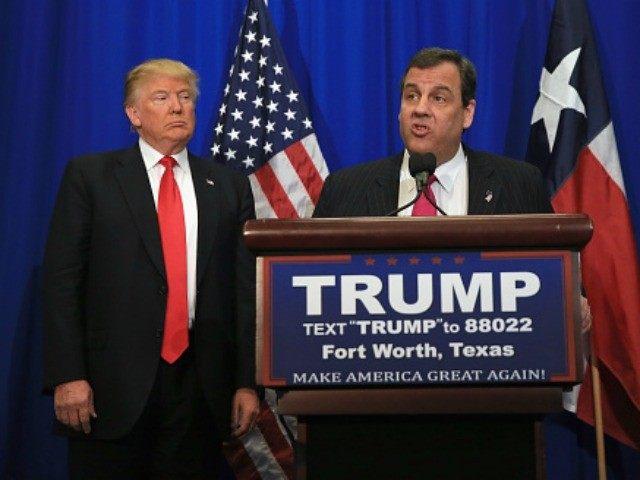 Chris Christie Endorses Donald Trump and Calls Marco Rubio 'Desperate'