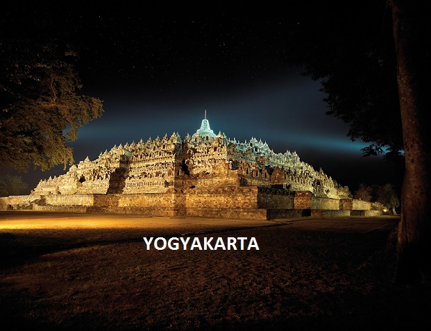 Tourism Spots in Yogyakarta, Indonesia